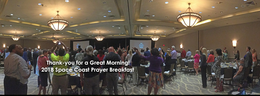 Thank You for Space Coast Prayer Breakfast
