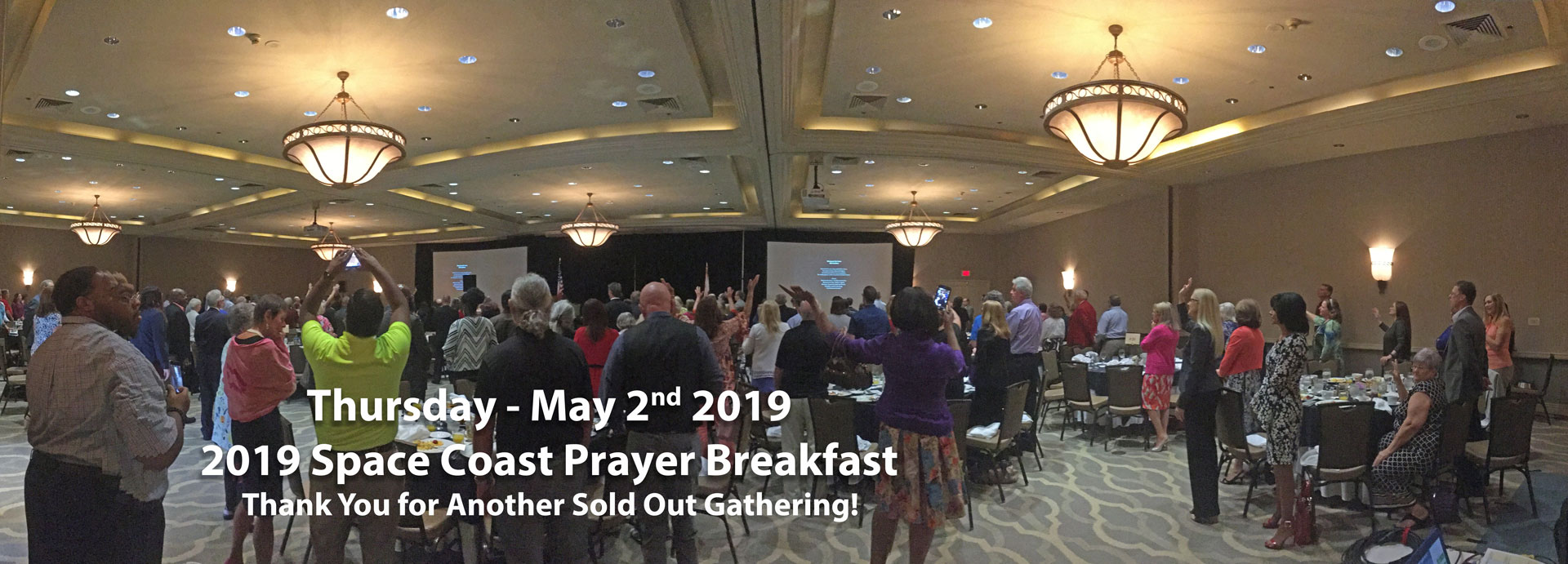 Space Coast Prayer Breakfast Sold Out