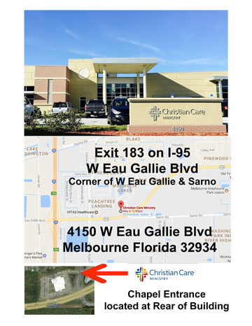Christian Care Ministry Building Directions