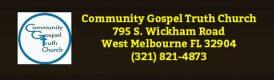 Community Gospel Truth Chruch