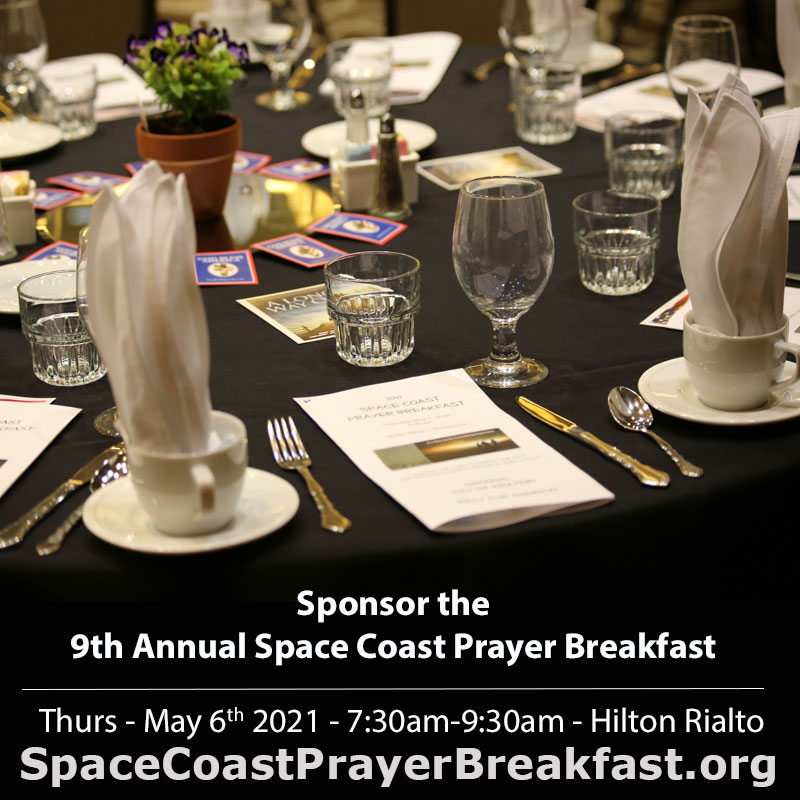 Sponsor Space Coast Prayer Breakfast